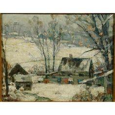 Landscape Paintings, Landscapes, 2d Art, Winter Landscape, Art Auction, View Image, Great Artists, New England, Sweden