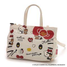 f28449c6a52c Hello Kitty x Hallmark 40th Handbag Shoulder Bag Pouch Sanrio From Japan  T2482 Hello Kitty Bag