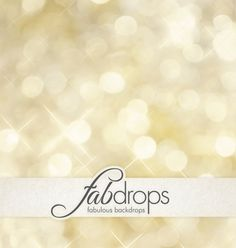 Gold Bokeh Photography Backdrop For Portrait And Prop Photo Backdrops (FD0001)