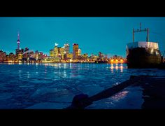 A cold night in #Toronto by Roland Shainidze, via 500px