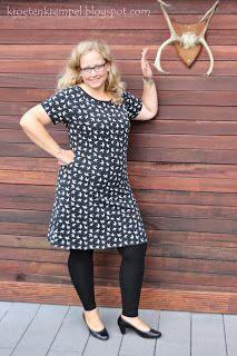krötenkrempel: Raglankleid von Lillesol Woman
