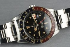 1958 Rolex GMT 6542 with Bakelite Bezel