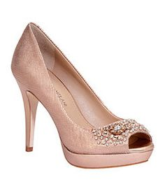 e3b5dcfc4 Antonio Melani Gabriela Platform Pumps in pewter · Bride ShoesWedding ...