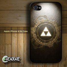 Legend of Zelda Triforce iPhone 4 4s Hard Case :)