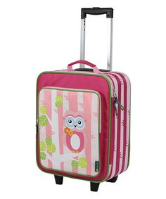 Another great find on #zulily! Pink Owl Adventure Happens Rolling Suitcase by Itzy Ritzy #zulilyfinds