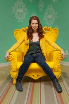 Felicia Day. Love her!
