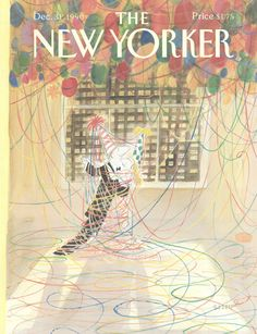 "The New Yorker - Monday, December 31, 1990 - Issue # 3437 - Vol. 66 - N° 46 - Cover by : ""Sempé"" - Jean-Jacques Sempé"