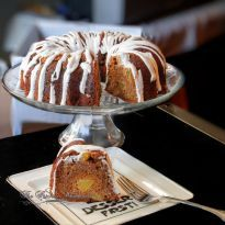 Apple Bundt Cake with Cinnamon Cheesecake Swirls, Fall Cake, Apple Cake, Mascarpone Cream Cheese Cheesecake, Fluffy White Icing, whipped vanilla bean frosting, apple desserts, epicurious, brunch desserts