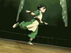Avatar: The Last Airbender - Toph vs. The Boulder