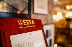 A la carte Restaurant WEEVA in Groningen op het Zuiderdiep Cards