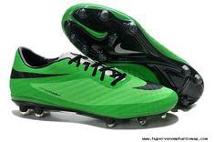 New Nike HyperVenom Phantom FG Boots Green Black 2014 World Cup