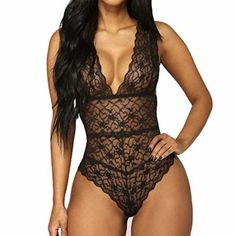 be5214283199 Conjuntos de Lencería Erotica Mujer Lencería de Pijama de una Pieza Sexy  para Mujer Ropa de