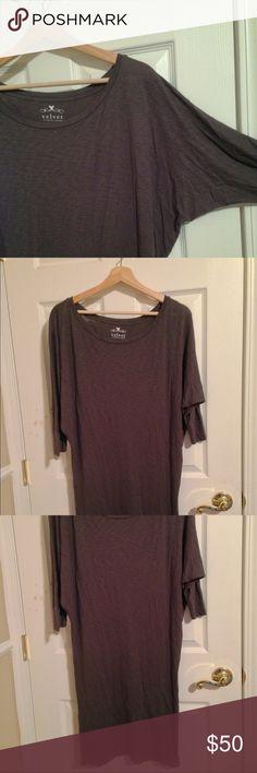 ✨Velvet by Graham and Spencer Slub Dress✨ Must have, super comfy fall dress. Size S. Used Velvet Dresses Midi