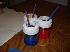 BPA bottles as Paint Containers | Flickr - Photo Sharing!