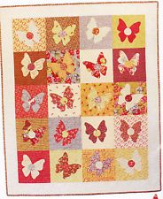 Butterfly Bliss -pretty applique & pieced quilt PATTERN