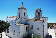 Turismo do Algarve: Igreja matriz de Santa Maria do Castelo (Tavira)