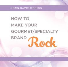 How To Make Your Gourmet/Specialty Brand Rock. Strategically plan the next steps for your brand. Submit the completed form to schedule a free 30-minute workshop session with us.