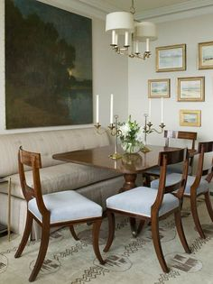 .beautiful Phoebe Howard dining room