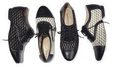 oxford lace up flats - perfect with cuffed jeans and spring skirts