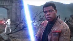 'Star Wars' John Boyega To Star In 'Pacific Rim Guillermo Del Toro Welcomes Him To The 'Sandbox' Rey And Finn, Sci Fi News, Rian Johnson, John Boyega, Episode Vii, Star Wars Gifts, Last Jedi, Downey Junior, Star Wars Episodes