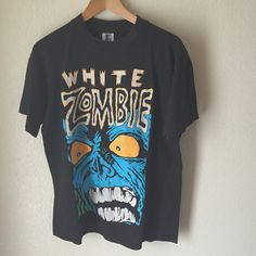 Vintage 90s White Zombie Shirt by WoreLordCult on Etsy