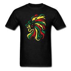 Rasta Lion Tribal, great t shirt making site