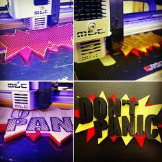 DON'T PANIC IT'S FRIDAY!! #Bilcotech #3D #3Dprinter #Meccatronicore #Studio #technology #dontpanic #friday #keepcalmanditsfriday
