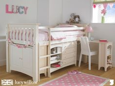 Once the kids are older??? good for storage. Luxury Kids Cabin Bed | Childrens Bedroom Furniture UK