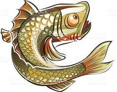 Рыба Сток Вектор Стоковая фотография
