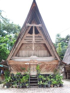 Traditional House Of North Sumatera