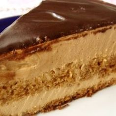 Recipes with photos of delicious cakes. Caramel Cake.