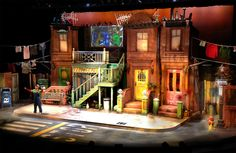 Avenue Q. Scenic design by Kent Homchick.