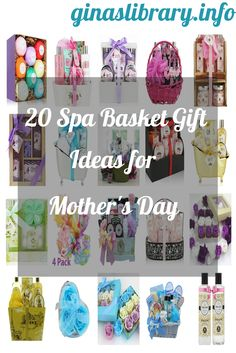 Mother's Day is a great time to spoil and pamper mom. Here are 20 great spa basket type gift ideas found on Amazon