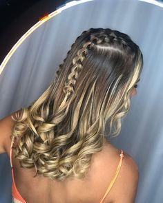 Cute Braid Hairstyles for Long Hair in 2020 – iHaircuts Website – Haircut Types Easy Hairstyles For Long Hair, Box Braids Hairstyles, Braids For Long Hair, Bob Braids, Dance Hairstyles, Party Hairstyles, Hairstyle Ideas, Medium Hair Styles, Curly Hair Styles