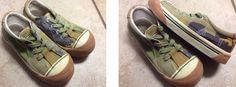 Umi Size 28 (Size 10 1/2) girls chucks stylish tennis shoes. $15