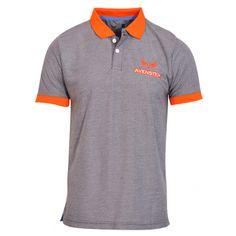 Avenster Dark Grey Polo Tshirt-₹349.00