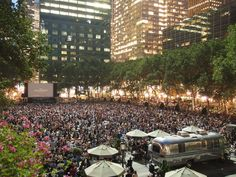 6 Cool, Free Things to Do in NYC Parks this Summer: Bryant Park Summer Film Festival