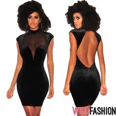 Tu ai purta o micuta rochie neagra super sexy? High Neck Dress, Bodycon Dress, Spandex, Club, Dresses, Fashion, Turtleneck Dress, Vestidos, Moda
