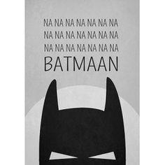 "Plakat "" Batman"""