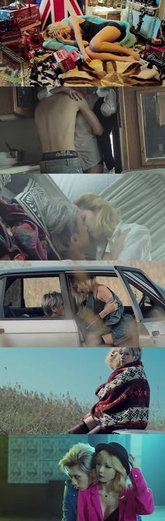 Hyuna & Hyunseung film sexy love scenes as Trouble Maker