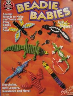 Beadie Babies Book tutorial for beaded critters by Plurfection