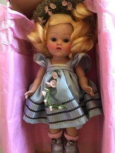 Strung Ginny Doll 1953 Cheryl #44 Metallic Blue, MIB! #Vogue
