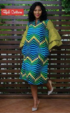 Ankara Gowns made by the Top Twenty Creative Minds in The Fashion Industry 2018 - WearitAfrica African Shirts, African Print Dresses, African Fashion Dresses, Ankara Fashion, African Attire, African Wear, African Women, Ankara Gowns, Ankara Dress