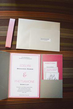 Modern Wedding Invitation Fremont Foundry Wedding Karen Obrist