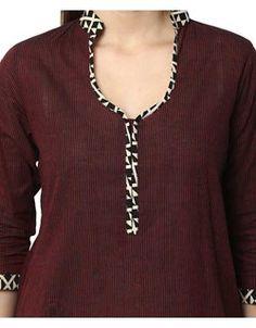 Terri Salwar Kameez Set - Maroon Online Shopping | 129767