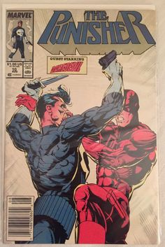 The Punisher (2nd Series) #10 - Marvel Comics - Dated 8/1/1988