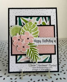 Tropical Chic and the Create with Connie & Mary Challenge