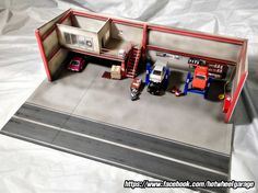 Diorama : 2Step Garage