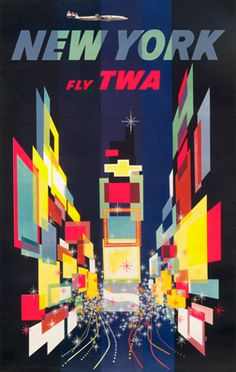 Klein, David  New York - Fly TWA (constellation variant), 195