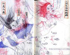 © Mu Pan, Sketchbooks, malá kniha